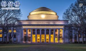 著名的麻省理工学院排名第几?2018美国麻省理工大学世界排名