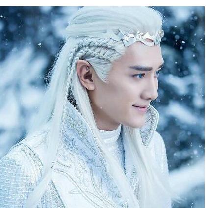 中国古装十大白发美男排名古装绝世美男冯绍峰美出新高度