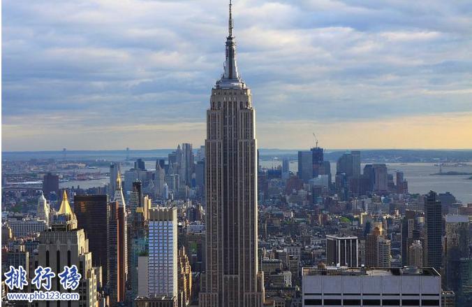 美国有哪些摩天大楼?美国高楼排名2018