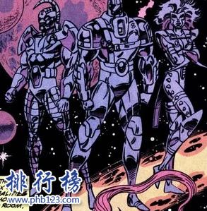 漫威十三大外星种族:第一不为人知,轻松秒杀天神租