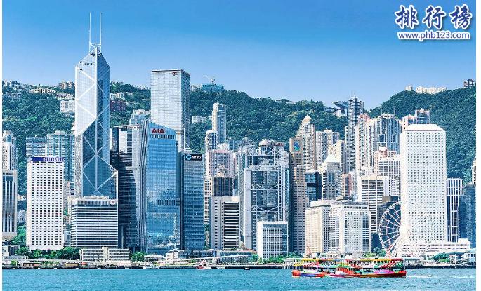 香港十大高楼2018 香港第一高楼环球贸易广场484米