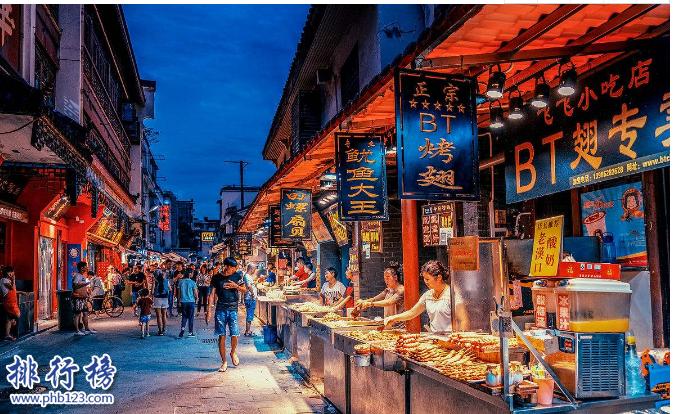 【武汉美食top10】盘点武汉十大小吃街,吃货必去之地