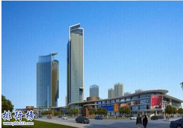 青岛第一高楼多少米?青岛十大高楼排名2018