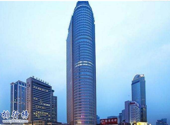 南京十大高楼排名2018 第一高楼580米你去过几个
