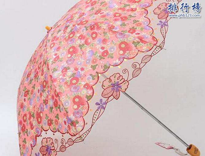 什么牌子防晒伞最好?防晒伞品牌排行榜10强推荐