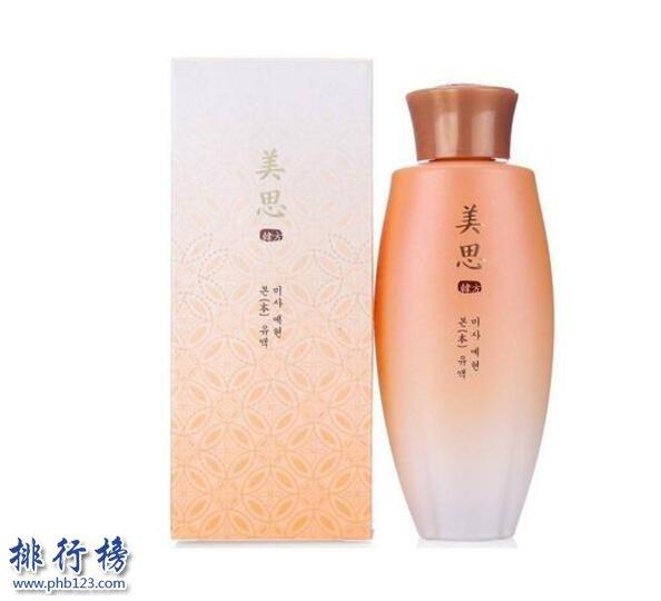 韩国乳液排行榜10强,韩国最好用的乳液举荐