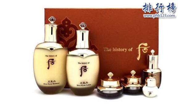 韩国化妆品哪个牌子好?护肤韩国品牌排行榜10强推荐