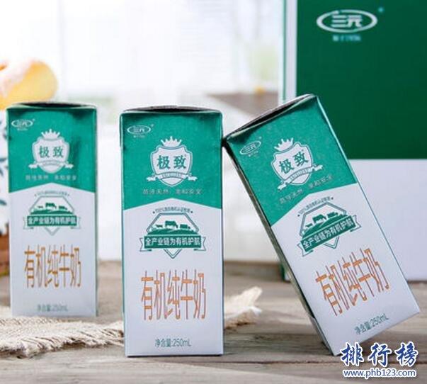 有机纯牛奶排行榜10强,口碑佳的有机纯牛奶推荐