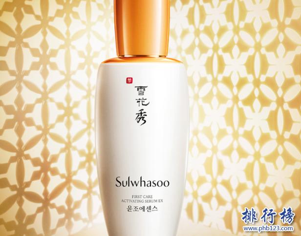 韩国护肤产品排行榜10强:韩国好用的护肤品牌推荐