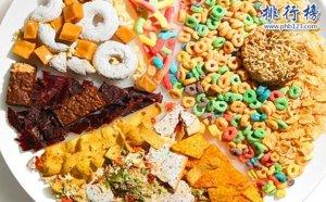 十大超高热量食物盘点,吃完都得胖几斤