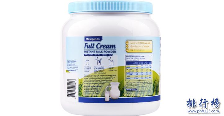中老年人吃什么奶粉好?进口老年奶粉排行榜