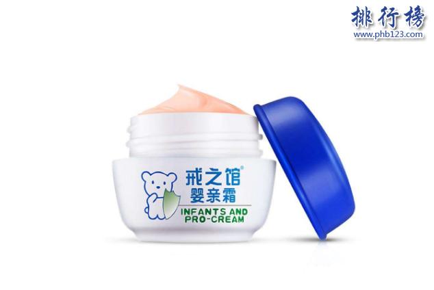 宝宝面霜哪个好用?中国宝宝面霜排行榜10强推荐