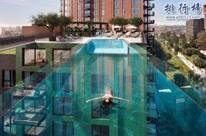 """世界奇妙游泳池盘点:""""天空池""""美丽绝伦创意十足"""