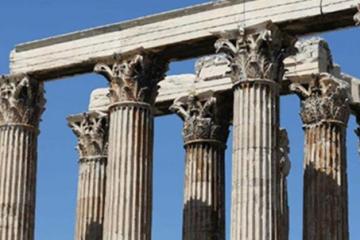 古希臘三大建筑柱式:多立克/愛奧尼/科林斯