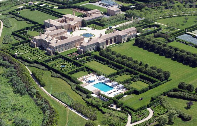 美国十大最豪华的豪宅 赫斯特城堡4亿美元,第二买房送布加迪