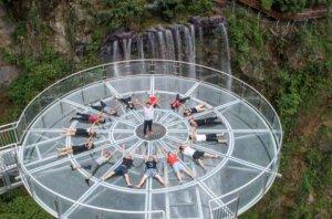 清远好玩的地方排行榜 古龙峡的玻璃桥世界最宽