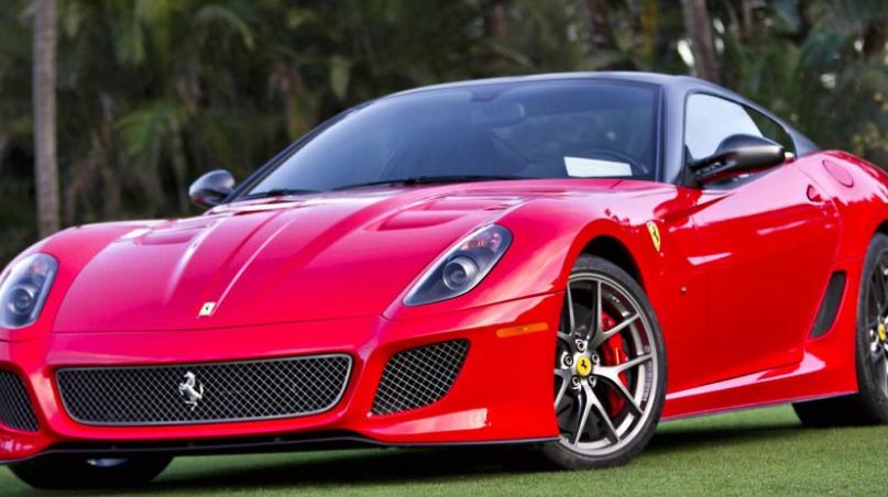 法拉利911红色_全球豪华跑车品牌有哪些 世界十大跑车品牌_排行榜123网