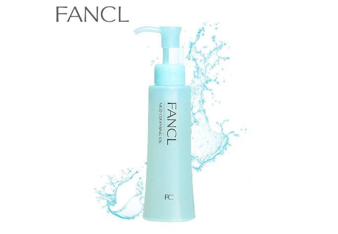 fancl卸妆油top5推荐:第2限定 无添加纳米实至名归