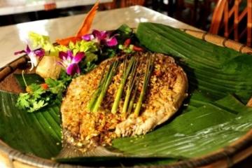 傣族八大特色菜,油炸牛皮、油炸青苔,你中意哪一种