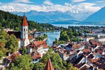 瑞士十大最美小鎮 因特拉肯第一,第二是極限愛好者天堂