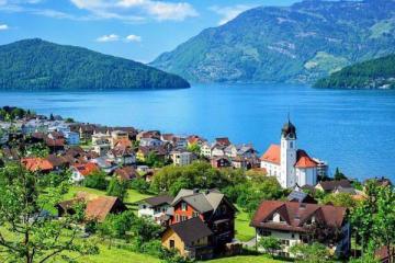 瑞士十大最美小镇 因特拉肯第一,第二是极限爱好者天堂