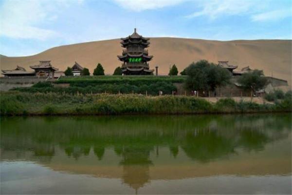 甘肃十大名村,月牙泉村上榜,蜻蜓村被评为我国最美休闲村