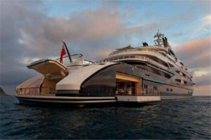 世界十大超豪华游艇,莫兰游艇每周单价560万RMB