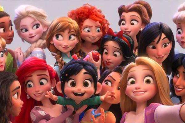 迪士尼动画电影排行榜