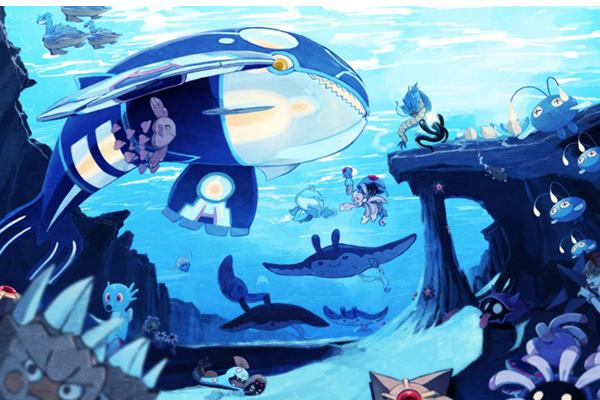 神奇宝贝水系十大最强精灵