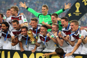 世界十大足球强国 阿根廷上榜,第一名曾5次获得世界杯冠军