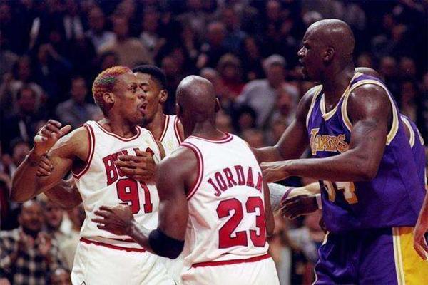 NBA十大打架悍将 阵仗相当于美国黑帮,第4名经常针对科比