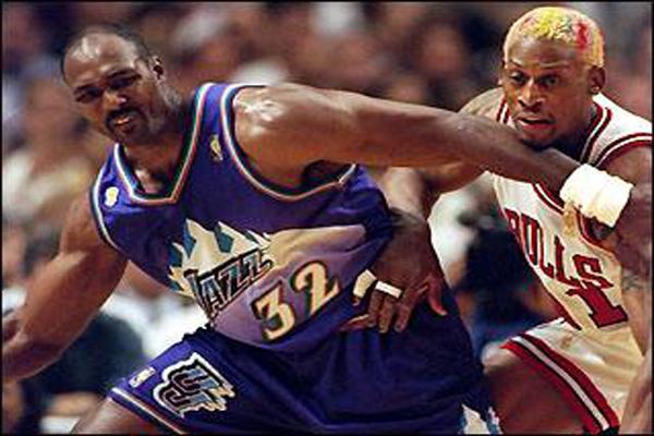 98年總冠軍賽喬丹打服馬龍?21年過去了,馬龍到現在還是如此嘴硬!-Haters-黑特籃球NBA新聞影音圖片分享社區