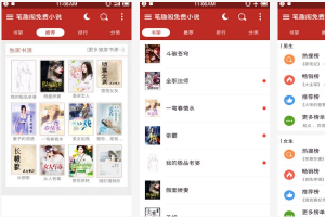 手机小说阅读app排行:番茄小说上榜 第九纵横文学旗下