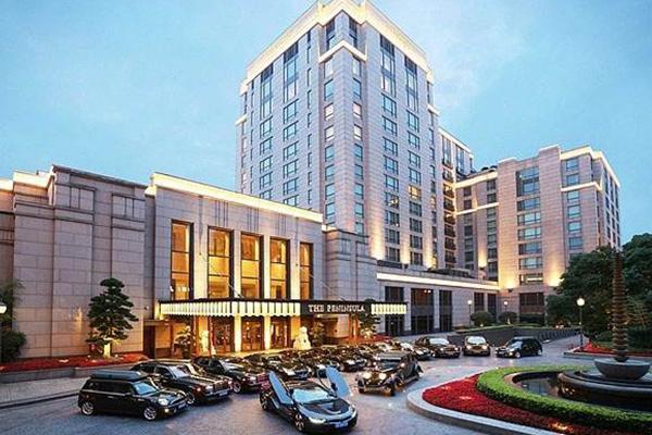 中国五星级酒店排行榜