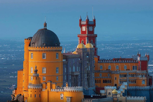 欧洲十大古堡
