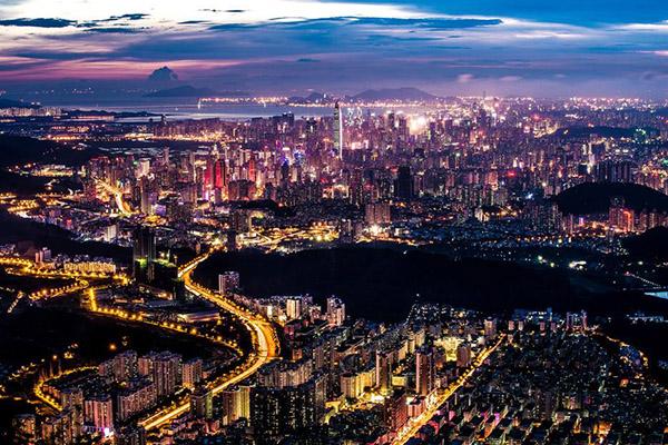中国十大城市