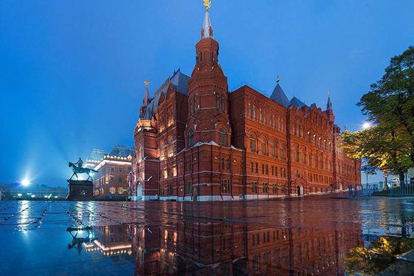 莫斯科十大必去景点