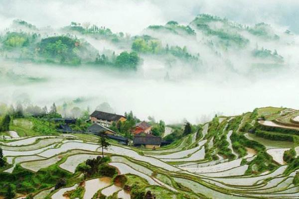 亚洲十大最美梯田