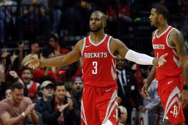 NBA火箭队员年薪排名2019  克里斯·保罗以4年1.6亿美元第一