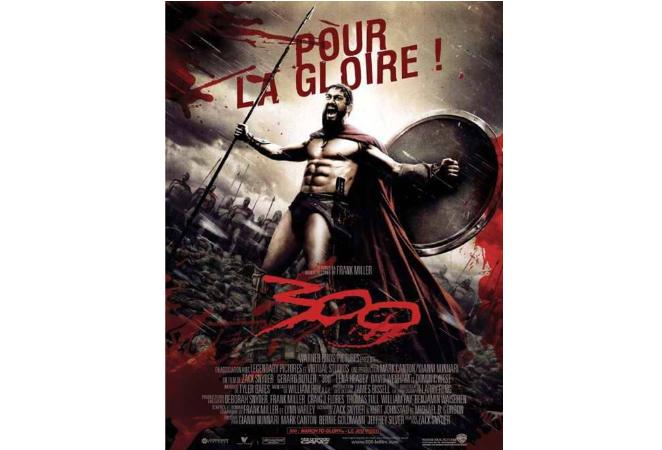 冷兵器的十大战争电影 勇敢的心第一,斯巴达300勇士仅第三