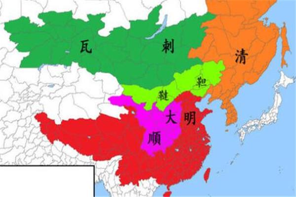 短命王朝排行,大顺朝存在只有一年,第八两年却有四位皇帝