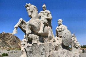 古代十大战神排名,吕布箭法百步穿杨,第二输在情商低