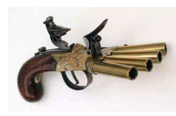 世界十大诡异的枪 纳粹皮带扣枪上榜,你认识几个