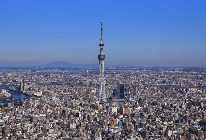 世界最大的十大铁塔 中国上榜三座,第一为哈利法塔