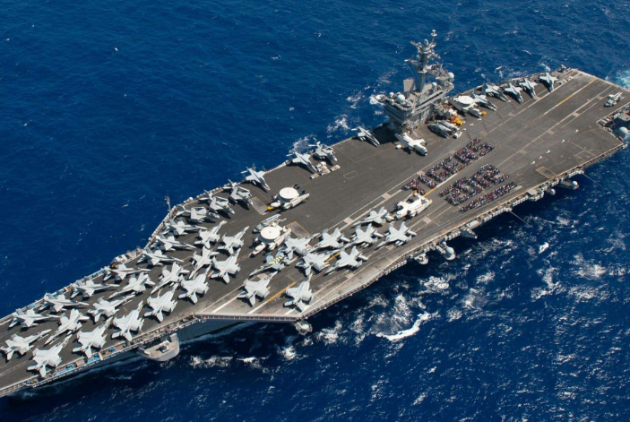 世界十大最強航母 美國上榜三艘,第一為尼米茲級