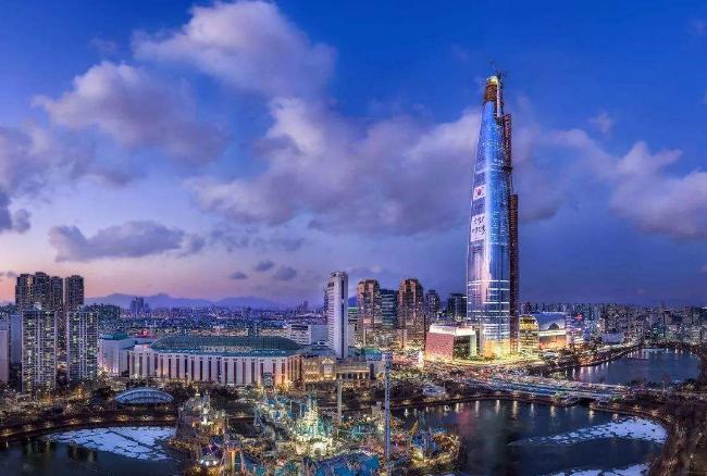 世界最高的十大建筑 中国上榜五个,第一为哈利法塔