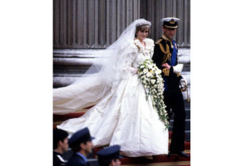 世界最美十大婚纱 戴安娜的婚纱上榜,有你喜欢的吗