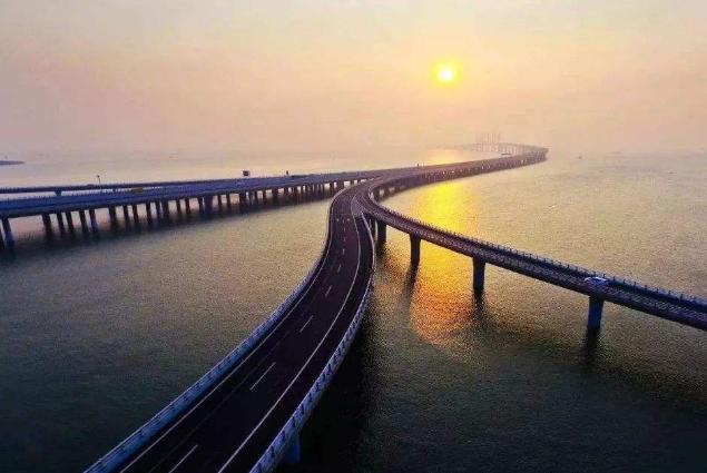世界最长的十大桥梁 中国上榜七座,第一全长164.8公里