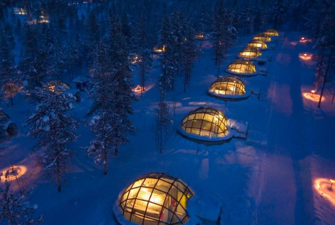 世界最奇葩的十大酒店 亲密接触大自然,有你喜欢的吗
