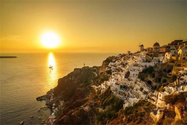 世界最美的十大落日 圣托里尼岛落日美到让人窒息,一辈子必去